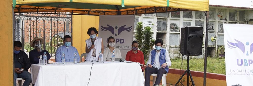 Unidad de Búsqueda avanza con las primeras acciones humanitarias en el Magdalena Medio Caldense
